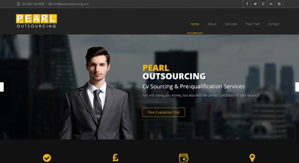 Pearl Outsourcing - Web Design and Development