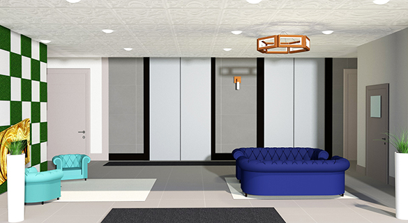 Commercial Interior Design - Architectural 3D