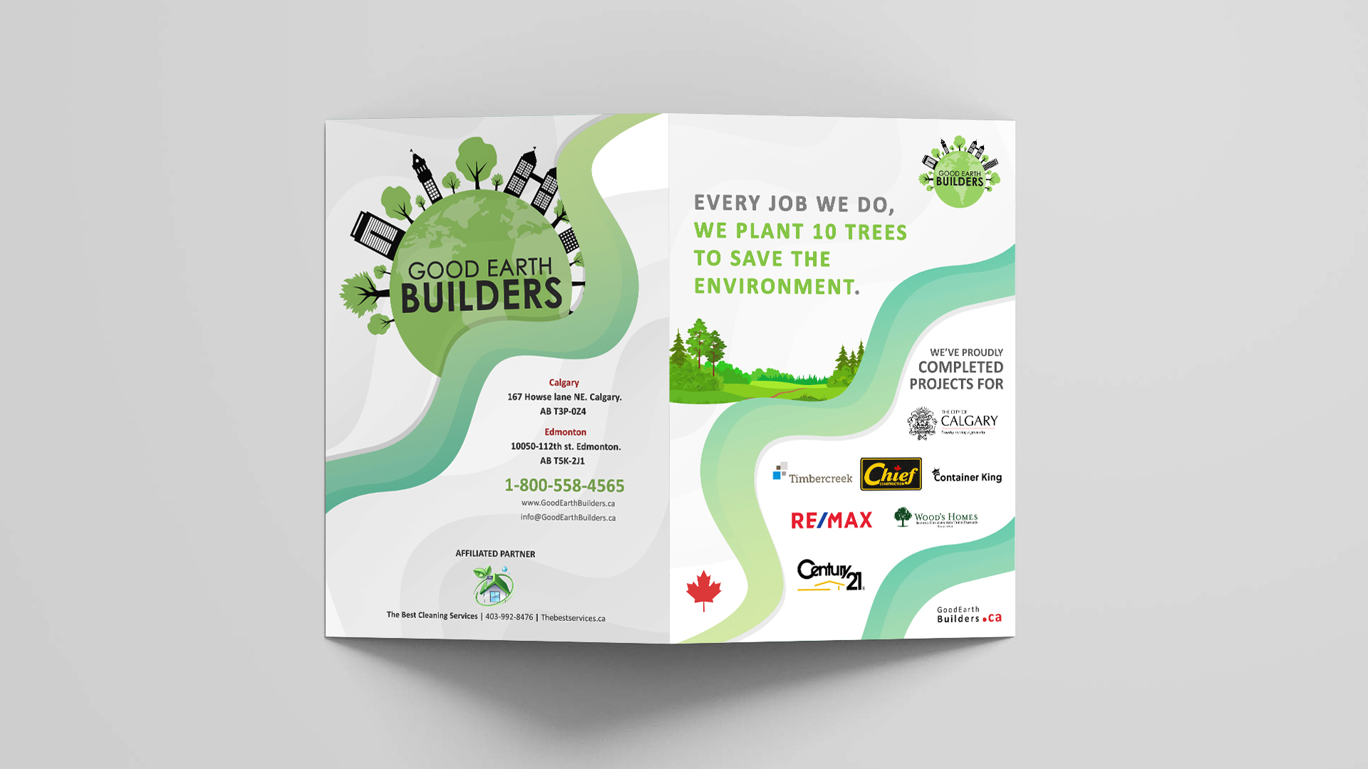 Good Earth Builders - Booklet Design