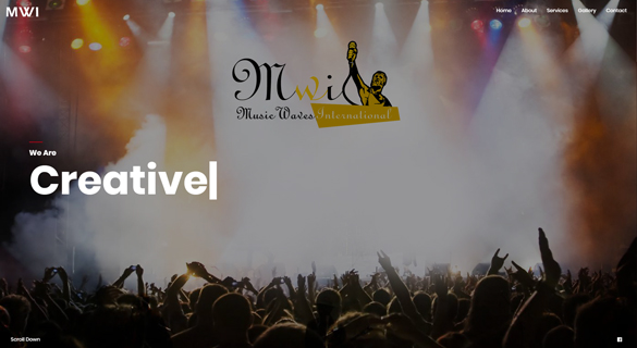 Music Waves International - Web Design and Development