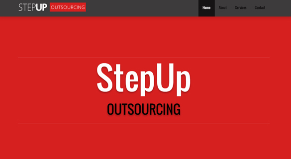 StepUp Outsourcing - Web Design and Development