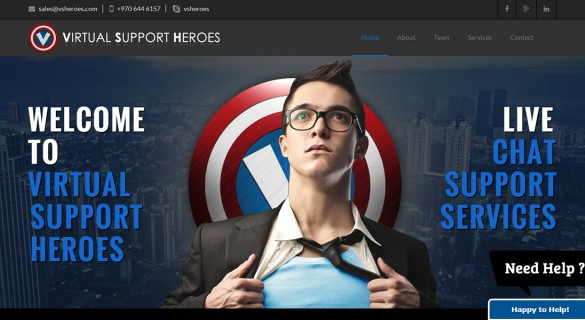 VSHeroes - Web Design and Development